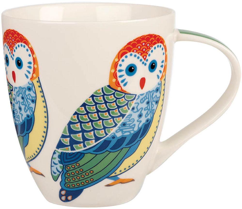 Кружка Churchill Сова, 500 мл115510Коллекция Кутюр использует эклектичное сочетание ярких цветов, чтобы создать самые модные узоры на посуде.