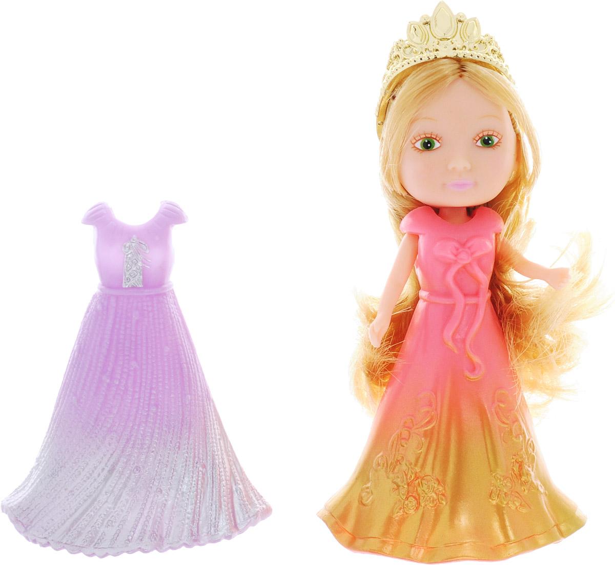 Veld-Co Мини-кукла Принцесса цвет золотистый сиреневый розовый veld co мини кукла mona с черепахой