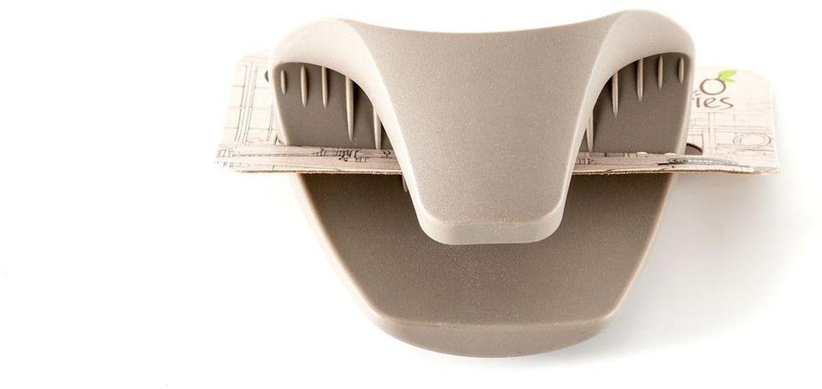 Кухонная прихватка Gipfel Eco, 8 х 10,3 х 6 смПЦ1440КРПосуда Gipfel изготовлена только из качественных, экологически чистых материалов. Также уделяется особое внимание дизайну продукции, способному удовлетворять вкусы даже самых взыскательных покупателей. Сталь 8/10, из которой изготавливается посуда и аксессуары Gipfel, является уникальной. Она отличается высокими эксплуатационными характеристиками и крайне устойчива к физическим воздействиям. Сложно найти более подходящий для создания качественной кухонной посуды материал. Отличительной чертой металлической посуды, выполненной из подобной стали, является характерный сероватый оттенок поверхности и особый блеск. Это позволяет приготовить более здоровую пищу.