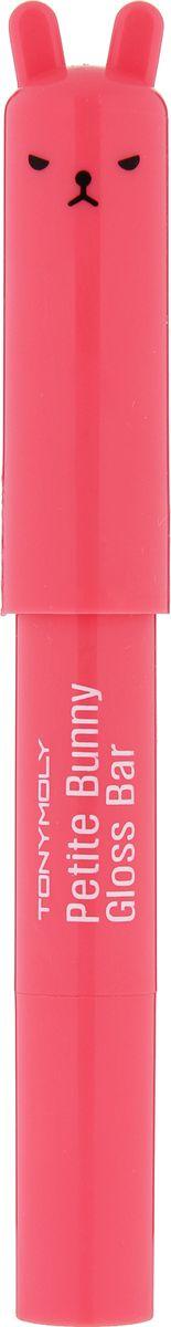 TonyMoly Блеск для губ Petit Bunny Gloss Bar 06 Orange, 2 гр5010777139655Petit Bunny Gloss Bar — это не только помада, но еще и блеск для губ и питательный увлажняющий бальзам. Настоящее уходовое средство для губ, в нем содержится экстракт клубники, который эффективно увлажняет и питает нежную кожу губ. Помада-бальзам от Tony Moly обладает приятным ароматом клубники, придает губам пухлость, естественный здоровый блеск.Помада-бальзам Petit Bunny Gloss Bar имеет яркую стильную привлекательную миниатюрную упаковку. Может поместиться в любой женской сумочке, в линейке представлено 9 различных оттенков с разными ароматами.Бальзам Petit Bunny Gloss Bar не только дарит губам эффектный блеск, но и бережно за ними ухаживает, оригинальная стильная упаковка в виде зайчика с кокетливыми ушками мало кого из женщин и девушек оставит равнодушной. Бальзам возвращает губам естественный насыщенный цвет, каждый из его оттенков имеет в основе ягодный или фруктовый экстракт, который придает каждому из них определенные свойства. Апельсин – дарит необходимые витамины и влагу. Срок годности: 30 месяцев.