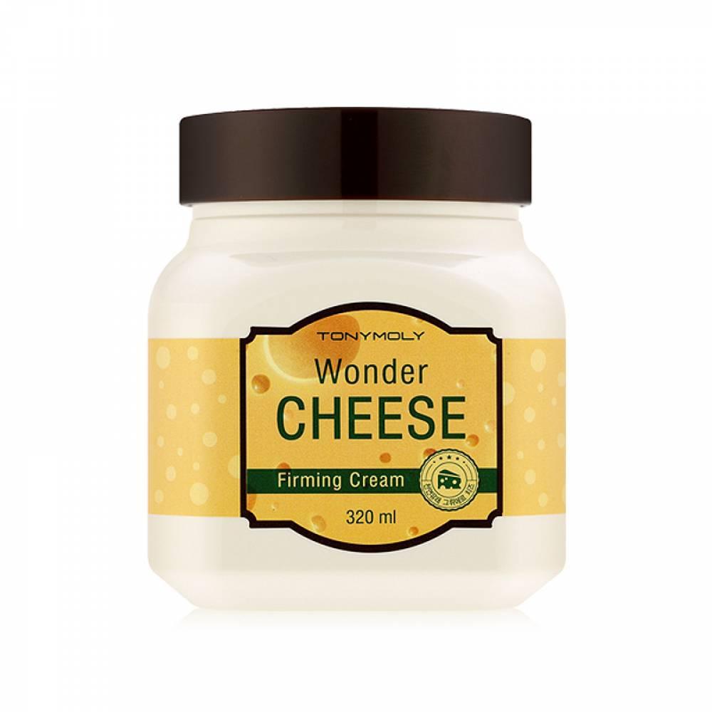 TonyMoly Крем с экстрактом сыра Wonder Cheese Firming cream, 320 мл12052503Крем помогает улучшить вид кожи, разглаживая глубокие и мелкие морщины. Предотвращает появления новых морщин и сглаживает уже существующие, укрепляет тургор кожи, увеличивает ее плотность и упругость. Обладает универсальной формулой, рекомендован для кожи лица и тела. Оказывает противовоспалительное действие, осветляет кожу, отшелушивает отмершие клетки, укрепляет и увлажняет обезвоженную кожу, избавляет от мелких морщин. Срок годности: 30 месяцев.