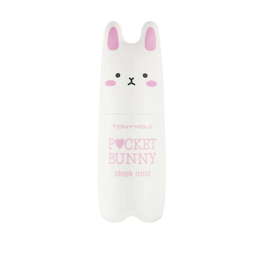 TonyMoly Мист для лица для жирной кожи Pocket Bunny Sleek Mist, 60 млFS-00103Этот мист не только освежает и увлажняет кожу, но и окутывает Вас тонким ароматом. Мист можно использовать как на коже лица, так и на зоне декольте и шеи.