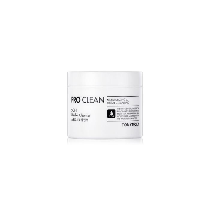 TonyMoly Очищающий щербет Pro-clean Sherbet cleanser, 90 гр72523WDЭффективно тонизирует, улучшает цвет лица, и дарит коже сияние, насыщает влагой, необходимыми питательными веществами и стимулирует процессы регенерации. Препятствует потере влаги и сохраняет влагу в коже на долгое время. Срок годности: 30 месяцев.
