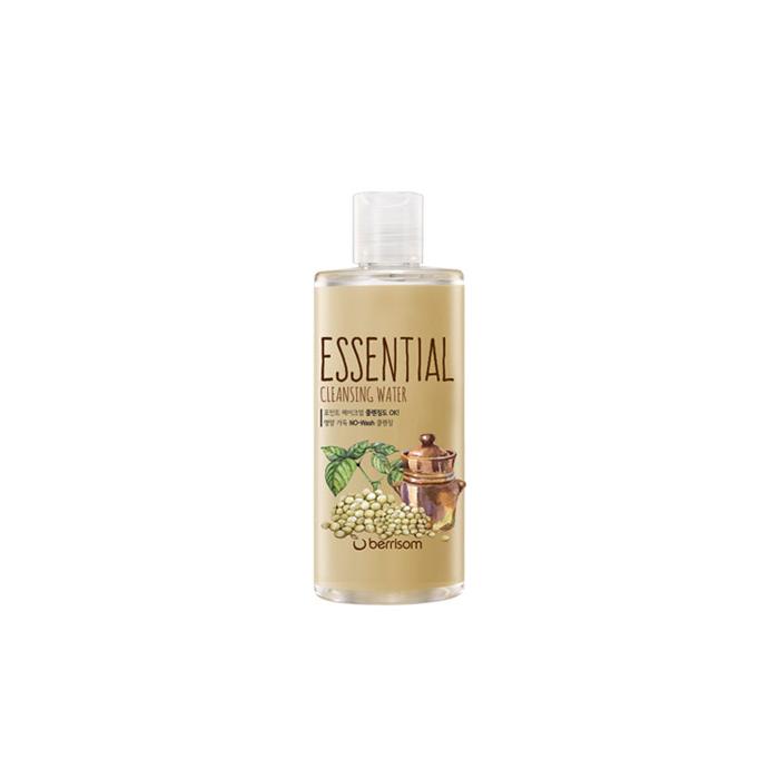 Berrisom Очищающая вода Berrisom Essential Cleansing Water - Seed, 300 млFS-36054Вода эффективно удаляет макияж и увлажняет кожу. Бережно и деликатно очищает кожу от загрязнений, удаляет омертвевшие клетки, насыщает питательными веществами. Имеет успокаивающий эффект, придает ощущение длительного комфорта и свежести. Содержит экстракт семечек подсолнуха, винограда, моркови, ослинника. Не содержит парабенов, животных экстрактов и т.д.