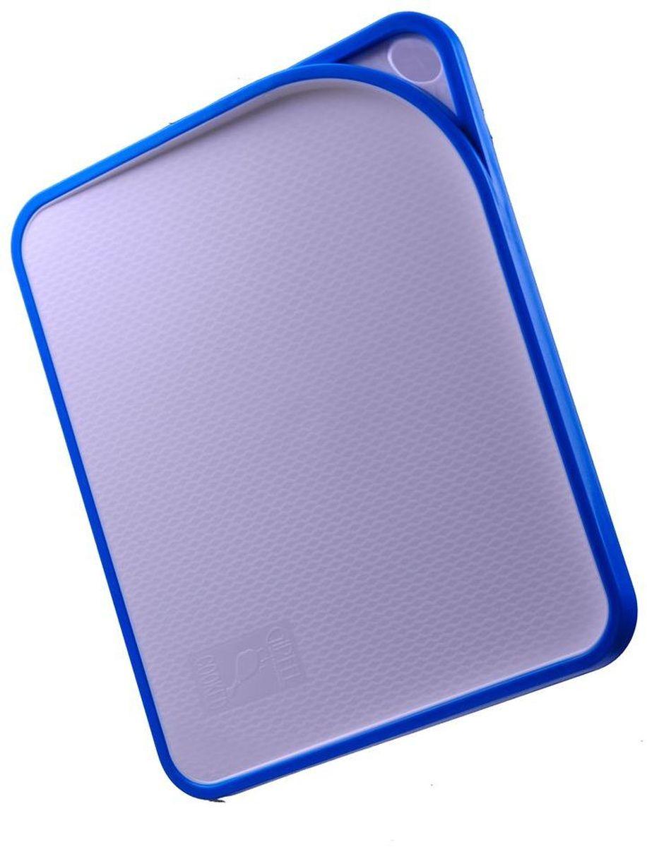 Доска разделочная Gipfel Acrux, цвет: голубой, 33,8 х 27,7 х 1,6 см54 009312Посуда Gipfel изготовлена только из качественных, экологически чистых материалов. Также уделяется особое внимание дизайну продукции, способному удовлетворять вкусы даже самых взыскательных покупателей. Сталь 8/10, из которой изготавливается посуда и аксессуары Gipfel, является уникальной. Она отличается высокими эксплуатационными характеристиками и крайне устойчива к физическим воздействиям. Сложно найти более подходящий для создания качественной кухонной посуды материал. Отличительной чертой металлической посуды, выполненной из подобной стали, является характерный сероватый оттенок поверхности и особый блеск. Это позволяет приготовить более здоровую пищу.