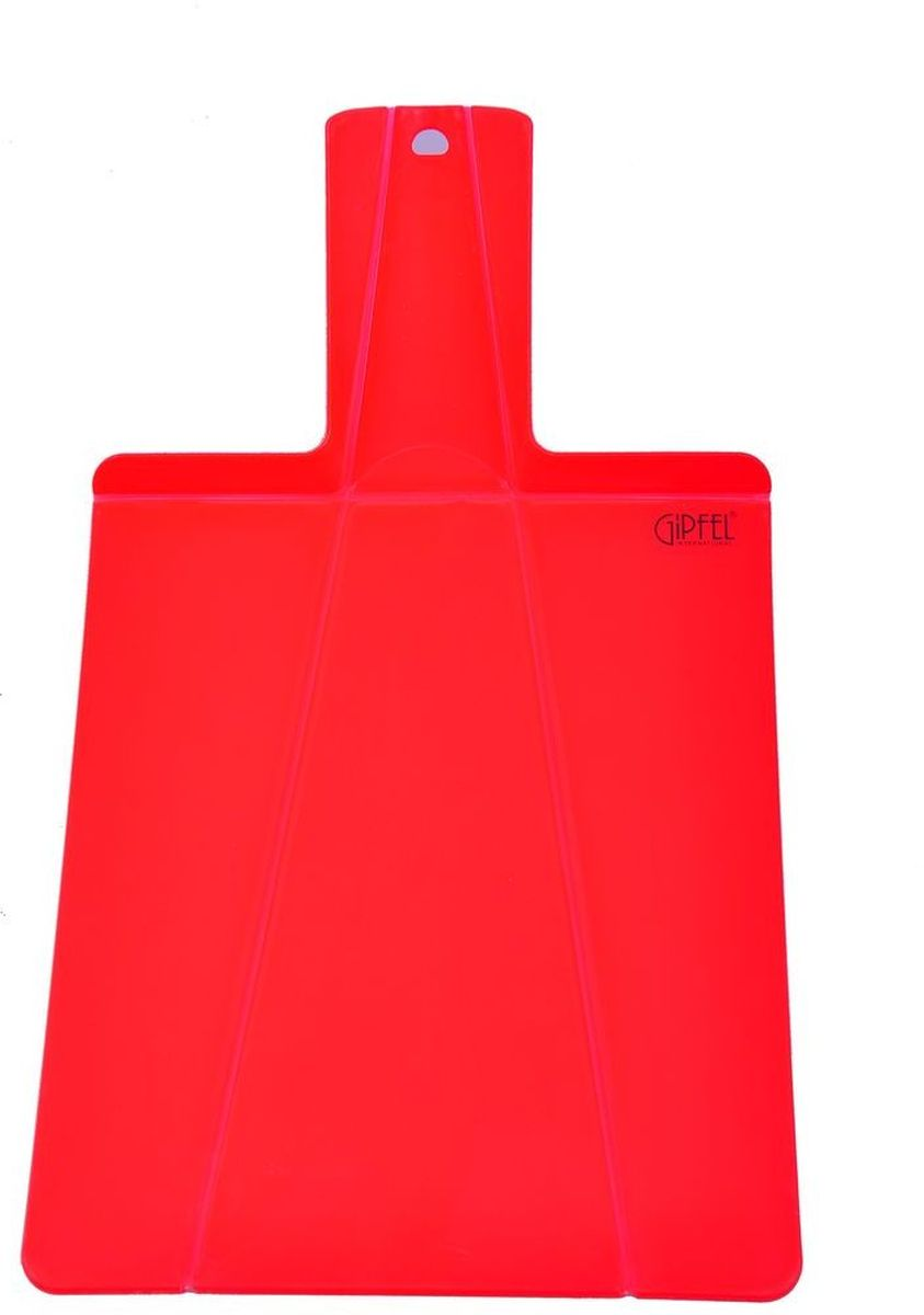 Доска разделочная Gipfel Mugavus, цвет: красный, 37,5 х 21 х 0,5 см54 009312Посуда Gipfel изготовлена только из качественных, экологически чистых материалов. Также уделяется особое внимание дизайну продукции, способному удовлетворять вкусы даже самых взыскательных покупателей. Сталь 8/10, из которой изготавливается посуда и аксессуары Gipfel, является уникальной. Она отличается высокими эксплуатационными характеристиками и крайне устойчива к физическим воздействиям. Сложно найти более подходящий для создания качественной кухонной посуды материал. Отличительной чертой металлической посуды, выполненной из подобной стали, является характерный сероватый оттенок поверхности и особый блеск. Это позволяет приготовить более здоровую пищу.