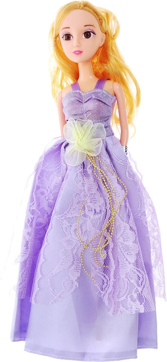 Veld-Co Кукла Принцесса цвет платья сиреневый
