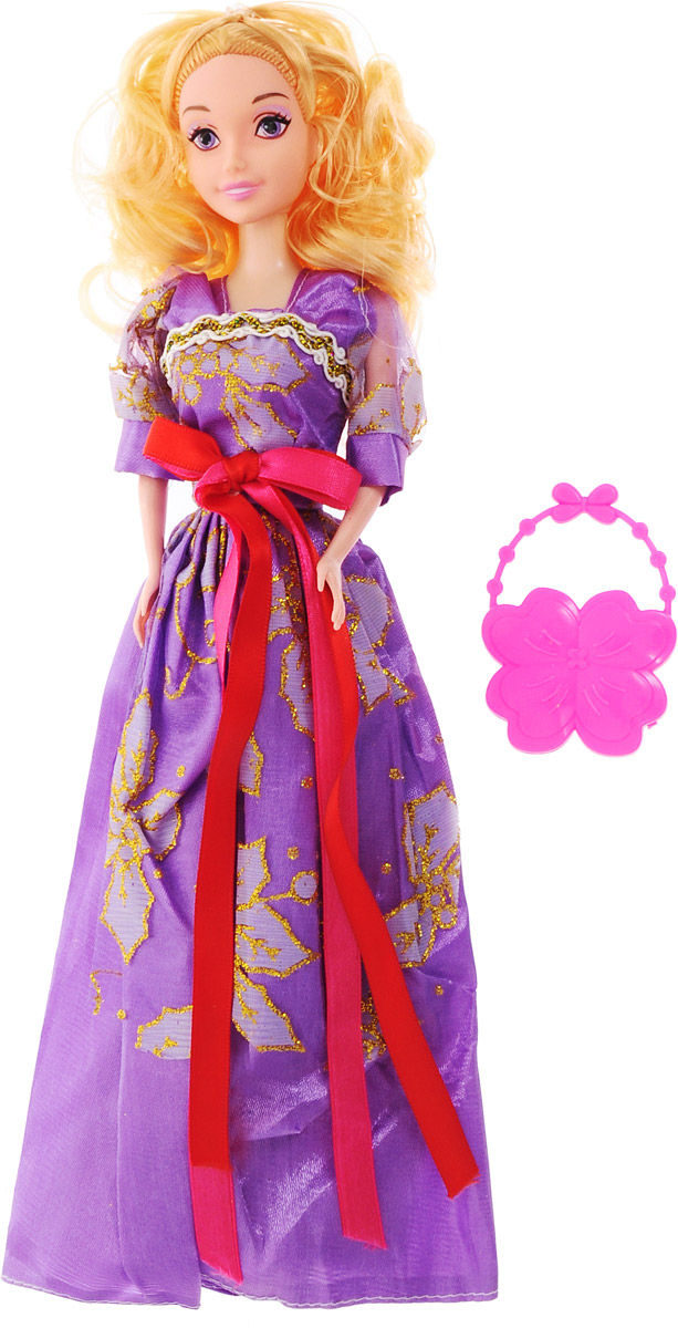 Veld-Co Кукла Benigh Girl цвет платья фиолетовый