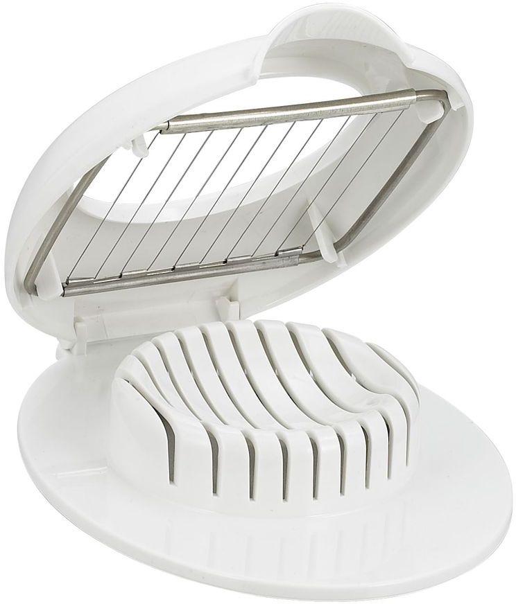 Яйцерезка Stahlberg, 17 х 13 см115510Посуда STAHLBERG изготовлена только из качественных, экологически чистых материалов. Также уделяется особое внимание дизайну продукции, способному удовлетворять вкусы даже самых взыскательных покупателей. Сталь 8/10, из которой изготавливается посуда и аксессуары STAHLBERG, является уникальной. Она отличается высокими эксплуатационными характеристиками и крайне устойчива к физическим воздействиям. Сложно найти более подходящий для создания качественной кухонной посуды материал. Отличительной чертой металлической посуды, выполненной из подобной стали, является характерный сероватый оттенок поверхности и особый блеск. Это позволяет приготовить более здоровую пищу.