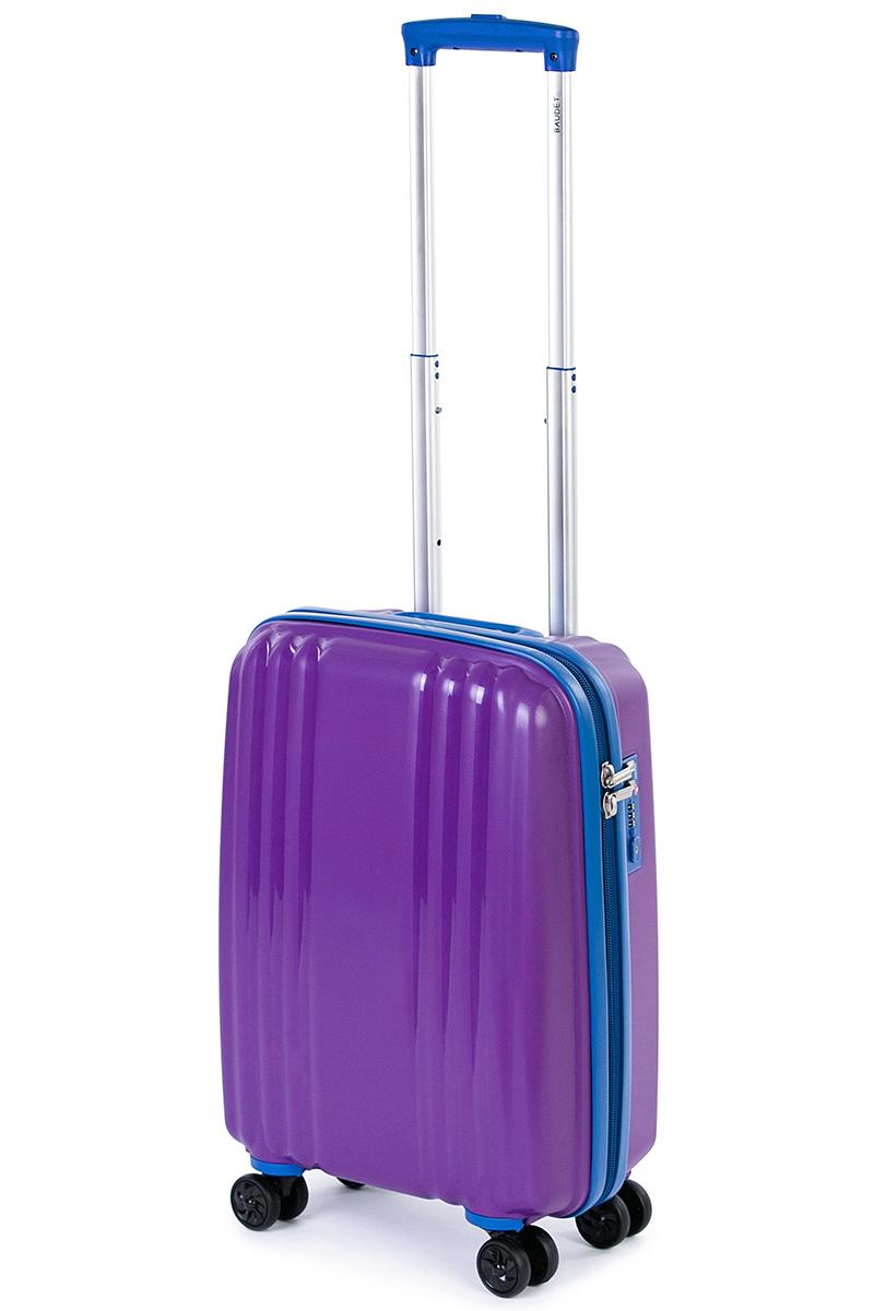 Чемодан Baudet, цвет: фиолетовый, 48 х 35 х 22 см, 37 лГризлиЧемодан Baudet надежный и практичныйв путешествии.Выполнен из прочного и ударостойкого полипропилена, материал внутренней отделки - полиэстеровая ткань серого цвета. Чемодан содержит продуманную внутреннюю организацию. Имеется одно большое отделение, которое закрывается по периметру на застежку-молнию. Внутри содержатся два больших отдела для хранения одежды. Для легкой и удобной перевозки чемодан оснащен четырьмяколесами, вращающимися на 360 градусов. Телескопическая ручка выдвигается нажатием на кнопку и фиксируется в двух положениях. Сверху предусмотренаручкадля поднятия чемодана.Гарантия на чемодан 2 года.Чемодан оснащен кодовым замком TSA, который исключает возможность взлома. Отверстие для ключав кодовом замке предназначено для работников таможни (открытие багажа для досмотра без присутствия хозяина). Ключ находится только у таможни и в комплекте с чемоданом не идет.