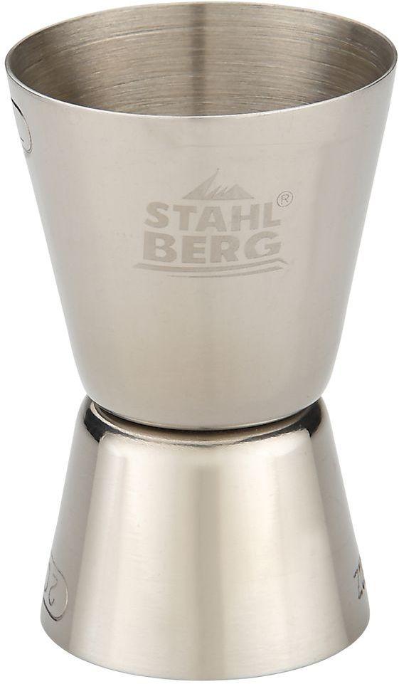 Джиггер Stahlberg, 4,2 х 4,2 х 7 см. 9336-SVT-1520(SR)Посуда STAHLBERG изготовлена только из качественных, экологически чистых материалов. Также уделяется особое внимание дизайну продукции, способному удовлетворять вкусы даже самых взыскательных покупателей. Сталь 8/10, из которой изготавливается посуда и аксессуары STAHLBERG, является уникальной. Она отличается высокими эксплуатационными характеристиками и крайне устойчива к физическим воздействиям. Сложно найти более подходящий для создания качественной кухонной посуды материал. Отличительной чертой металлической посуды, выполненной из подобной стали, является характерный сероватый оттенок поверхности и особый блеск. Это позволяет приготовить более здоровую пищу.