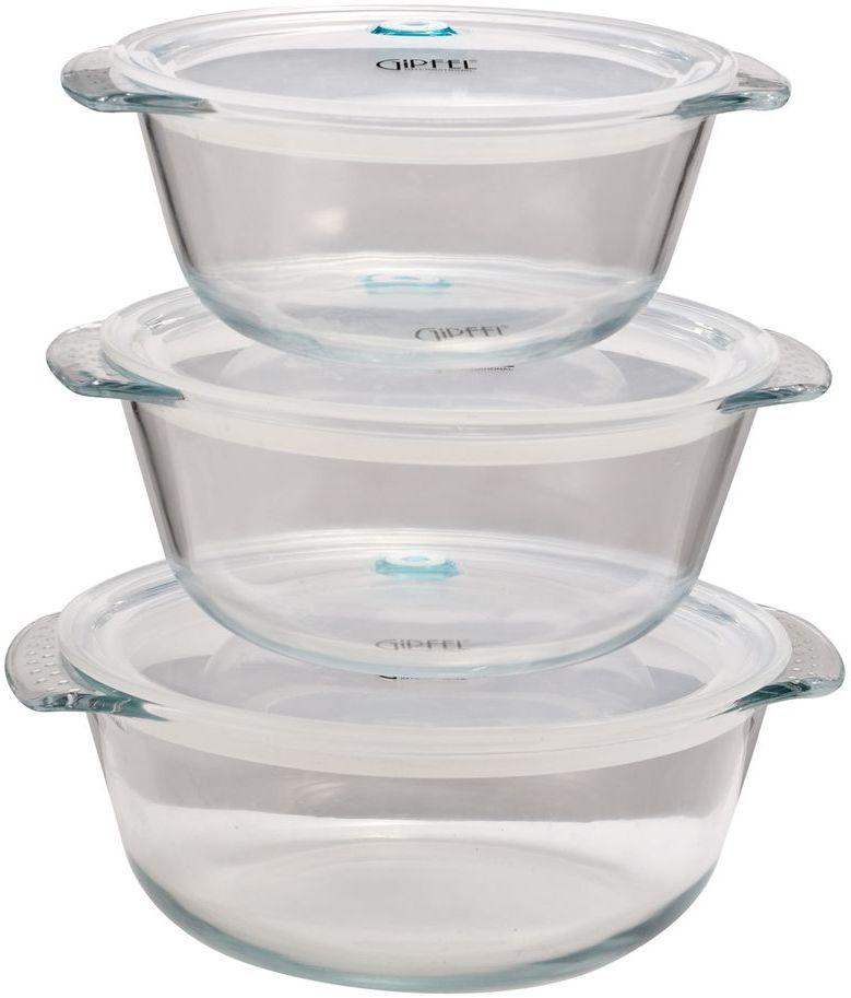 Набор жаропрочных контейнеров Gipfel BomusVT-1520(SR)Посуда Gipfel изготовлена только из качественных, экологически чистых материалов. Также уделяется особое внимание дизайну продукции, способному удовлетворять вкусы даже самых взыскательных покупателей. Сталь 8/10, из которой изготавливается посуда и аксессуары Gipfel, является уникальной. Она отличается высокими эксплуатационными характеристиками и крайне устойчива к физическим воздействиям. Сложно найти более подходящий для создания качественной кухонной посуды материал. Отличительной чертой металлической посуды, выполненной из подобной стали, является характерный сероватый оттенок поверхности и особый блеск. Это позволяет приготовить более здоровую пищу.