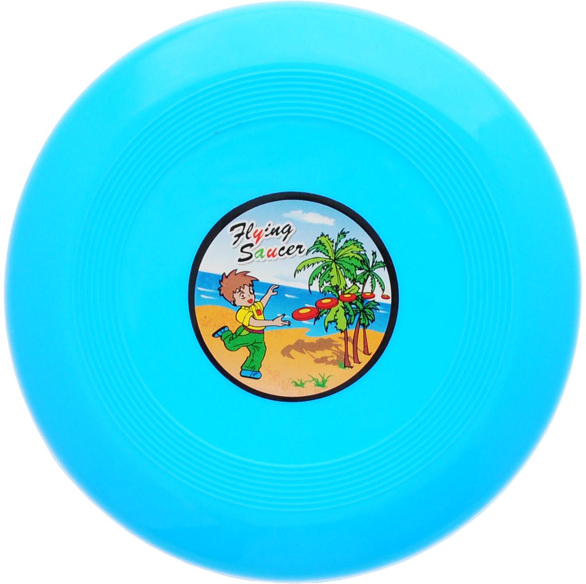 Veld-Co Летающая тарелка цвет голубой диаметр 14 см