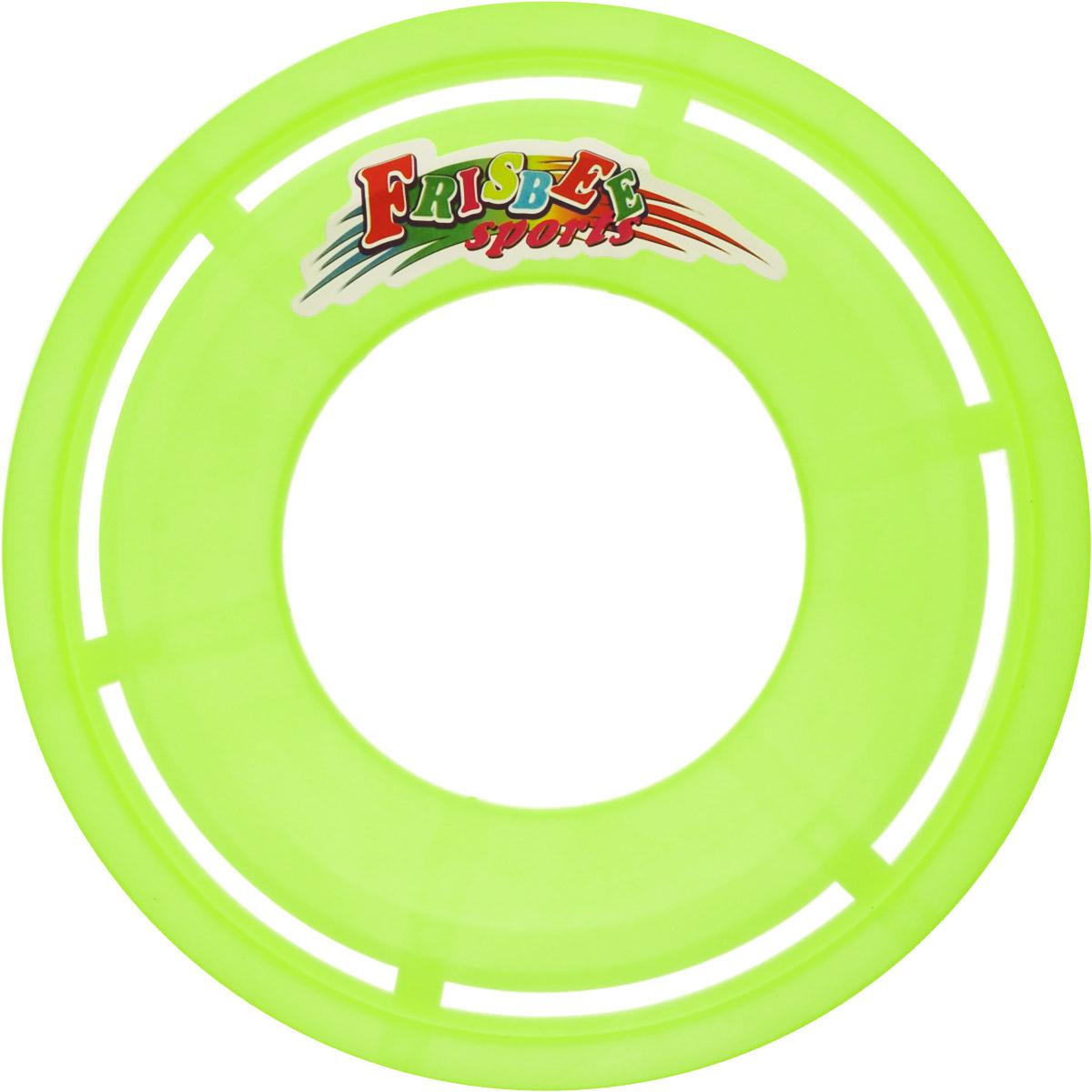 Veld-Co Летающая тарелка цвет желтый неон диаметр 23 см