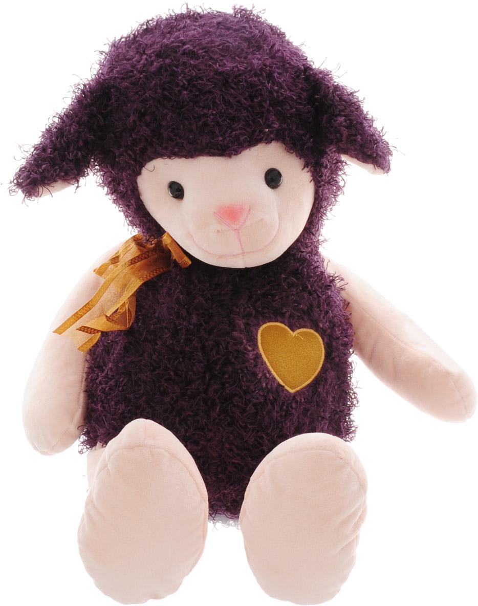 Magic Bear Toys Мягкая игрушка Овечка цвет фиолетовый 42 см мягкая игрушка magic bear toys тигр 60 см