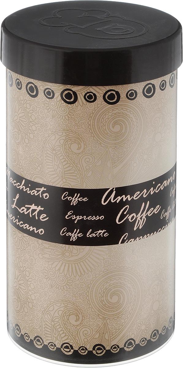Емкость для хранения кофе Oursson, цвет: бежевый, темно-коричневый, 400 г. JA55081/BRJA55081/BRЕмкость для хранения кофе Oursson изготовлена из высококачественного пластика и оформлена оригинальным принтом. Изделие предназначено для хранения кофе.Современный дизайн изделия сочетает в себе изысканную простоту и элегантность. Емкость для хранения кофе займет достойное место на вашей кухне. Диаметр емкости (по верхнему краю): 9 см. Высота стенки (без учета крышки): 18 см.