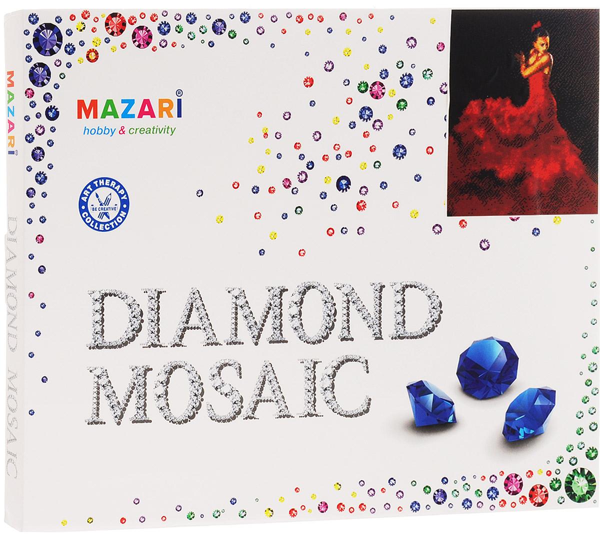 Mazari Алмазная мозаика Кармен mazari алмазная мозаика тигр