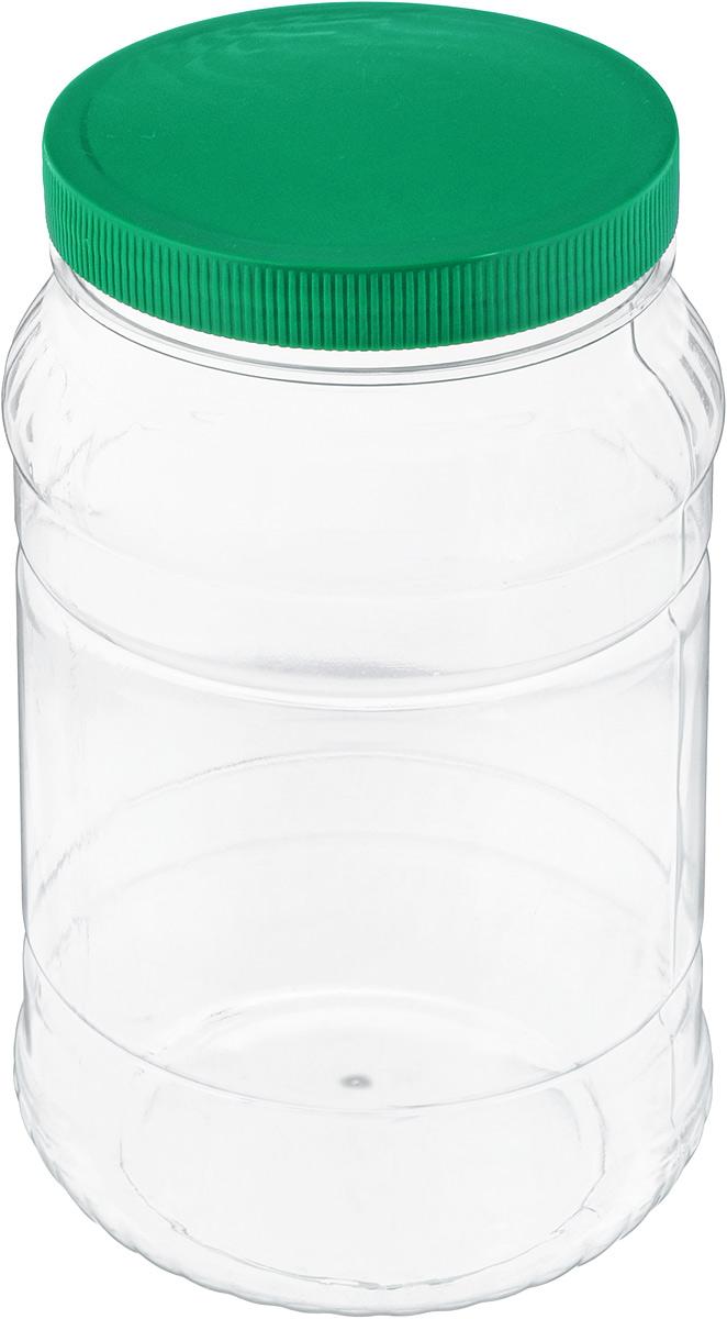 Банка для сыпучих продуктов Альтернатива, цвет: зеленый, прозрачный, 2 лSC-FD421004Банка для сыпучих продуктов Альтернатива, изготовленная из высококачественного пластика, станет незаменимым помощником на любой кухне. В ней будет удобно хранить сыпучие продукты, такие, как чай, кофе, соль, сахар, крупы, макароны и многое другое. Емкость плотно закрывается крышкой. Яркий дизайн банки позволит украсить любую кухню, внеся разнообразие как в строгий классический стиль, так и в современный кухонный интерьер.Диаметр банки (по верхнему краю): 10,5 см.Высота банки (с учетом крышки): 20,5 см.