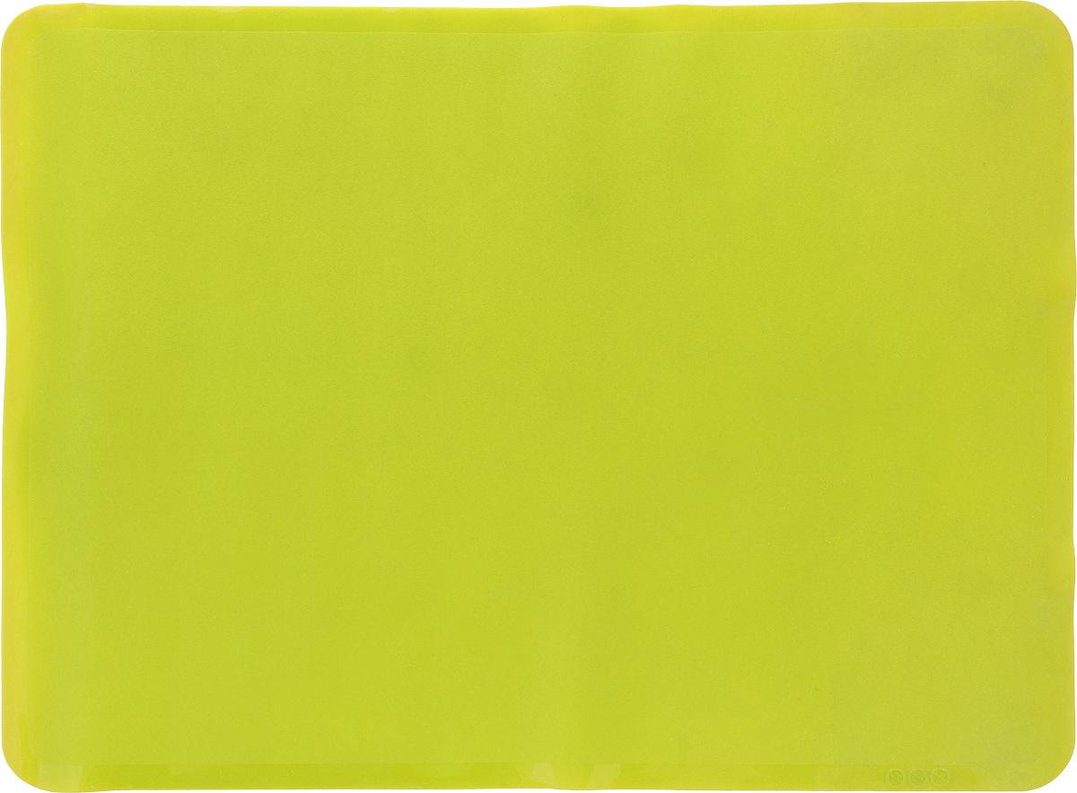 Коврик для выпечки Oursson, цвет: зеленое яблоко, 38 х 28 см68/5/4Антипригарный коврик для выпечки Oursson изготовлен из высококачественного силикона, способного выдерживать температуру от -20 до +220°С. Коврик позволяет готовить блюда в духовом шкафу без использования жира и масла. Исключает пригорание, способствует хорошему пропеканию изделий. Выпечка не прилипает к противню. Коврик легко очищается и моется.Коврик можно использовать в микроволновой печи, в духовом шкафу. Также подходит для хранения в холодильнике. Изделие можно мыть в посудомоечной машине.Размер коврика: 38 х 28 см.