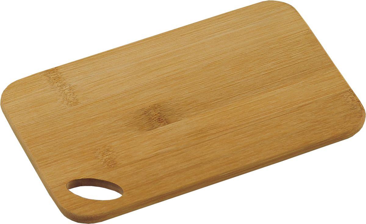 Доска разделочная Kesper, 22,5 х 14,5 х 0,8 см54 009312Разделочная доска Kesper изготовлена из дерева и дополнена отверстием для подвешивания Функциональная и простая в использовании разделочная доска Kesper прекрасно впишется в интерьер любой кухни и прослужит вам долгие годы. Размер доски: 22,5 х 14,5 х 0,8 см.