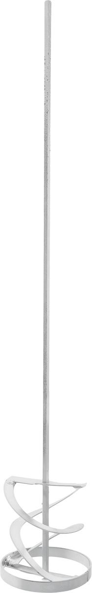 Насадка-миксер строительная Vorel Турбо, цвет: стальной, диаметр 10 см3 11 01 037Съемная насадка-миксер Vorel Турбо выполнена из прочного металла и предназначена для строительных миксеров. Изделие предназначено для оперативного замешивания красок, растворов, клея, шпаклевки или штукатурки. Также смешивает жидкие и вязкие, легкие и тяжелые строительные смеси. Длина насадки-миксера: 60 см. Диаметр насадки-миксера: 10 см.
