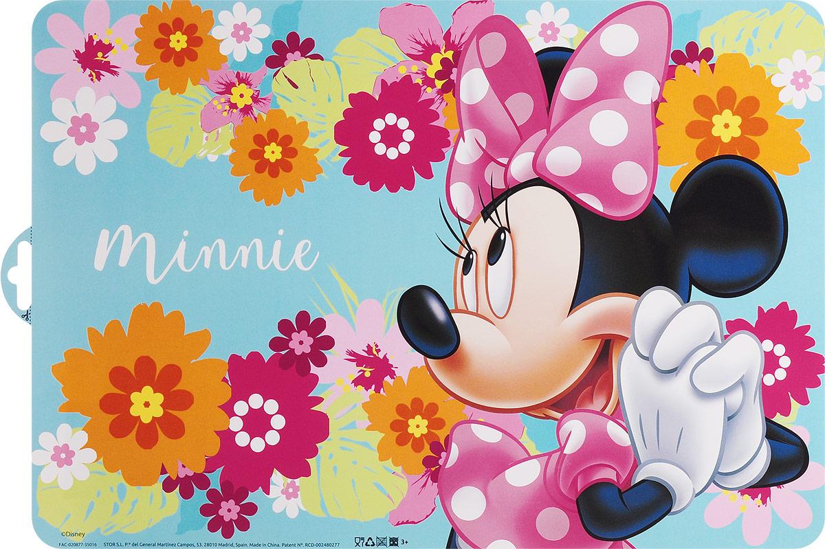 Disney Салфетка под горячее Минни115510Салфетка под горячее Disney Минни не только украсит стол, но и защитит его от различных повреждений.Она выполнена из плотного материала и красочно оформлена цветами с изображением героя популярного мультфильма Микки Маус - Минни Маус, подружка Микки Мауса. Салфетку можно использовать как под посуду, так и просто для украшения интерьера.Не использовать в СВЧ-печах и посудомоечных машинах.