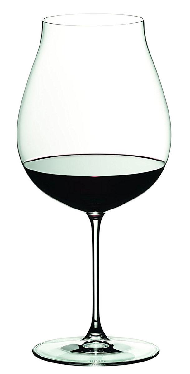 Бокал Riedel New Wolrd Pinot Noir, 790 млVT-1520(SR)Бокал Riedel New Wolrd Pinot Noir выполнен из прочного стекла. Бокал предназначен для подачи красного вина. Он сочетает в себе элегантный дизайн и функциональность. Благодаря такому бокалу пить напитки будет еще вкуснее.Бокал Riedel New Wolrd Pinot Noir прекрасно оформит праздничный стол и создаст приятную атмосферу за романтическим ужином. Такой бокал также станет хорошим подарком к любому случаю. Диаметр фужера (по верхнему краю): 7 см. Высота фужера: 23,5 см.
