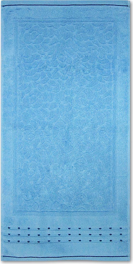Полотенце махровое Bravo Морион, цвет: синий, 50 х 90 см85546Полотенце Морион выполнено из натуральной махровой ткани (100% хлопок). Изделие отлично впитывает влагу, быстро сохнет, сохраняет яркость цвета и не теряет форму даже после многократных стирок. Полотенце очень практично и неприхотливо в уходе. Оно создаст прекрасное настроение и украсит интерьер в ванной комнате.
