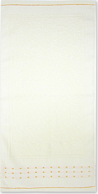 Полотенце махровое Bravo Морион, цвет: кремовый, 50 х 90 см85548Полотенце Морион выполнено из натуральной махровой ткани (100% хлопок). Изделие отлично впитывает влагу, быстро сохнет, сохраняет яркость цвета и не теряет форму даже после многократных стирок. Полотенце очень практично и неприхотливо в уходе. Оно создаст прекрасное настроение и украсит интерьер в ванной комнате.