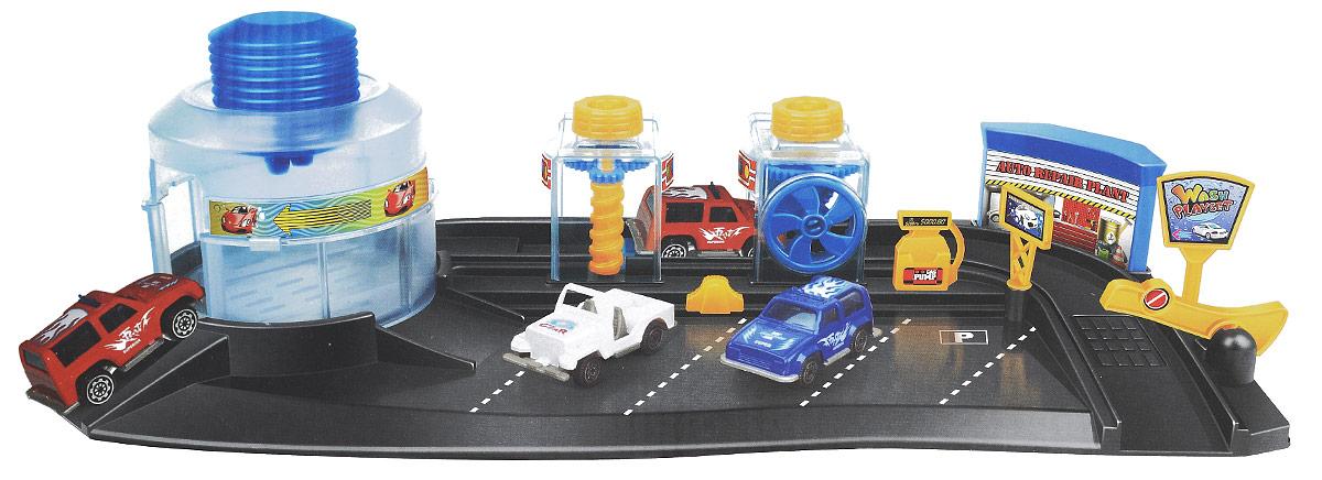 Big Motors Игровой набор Автомойка