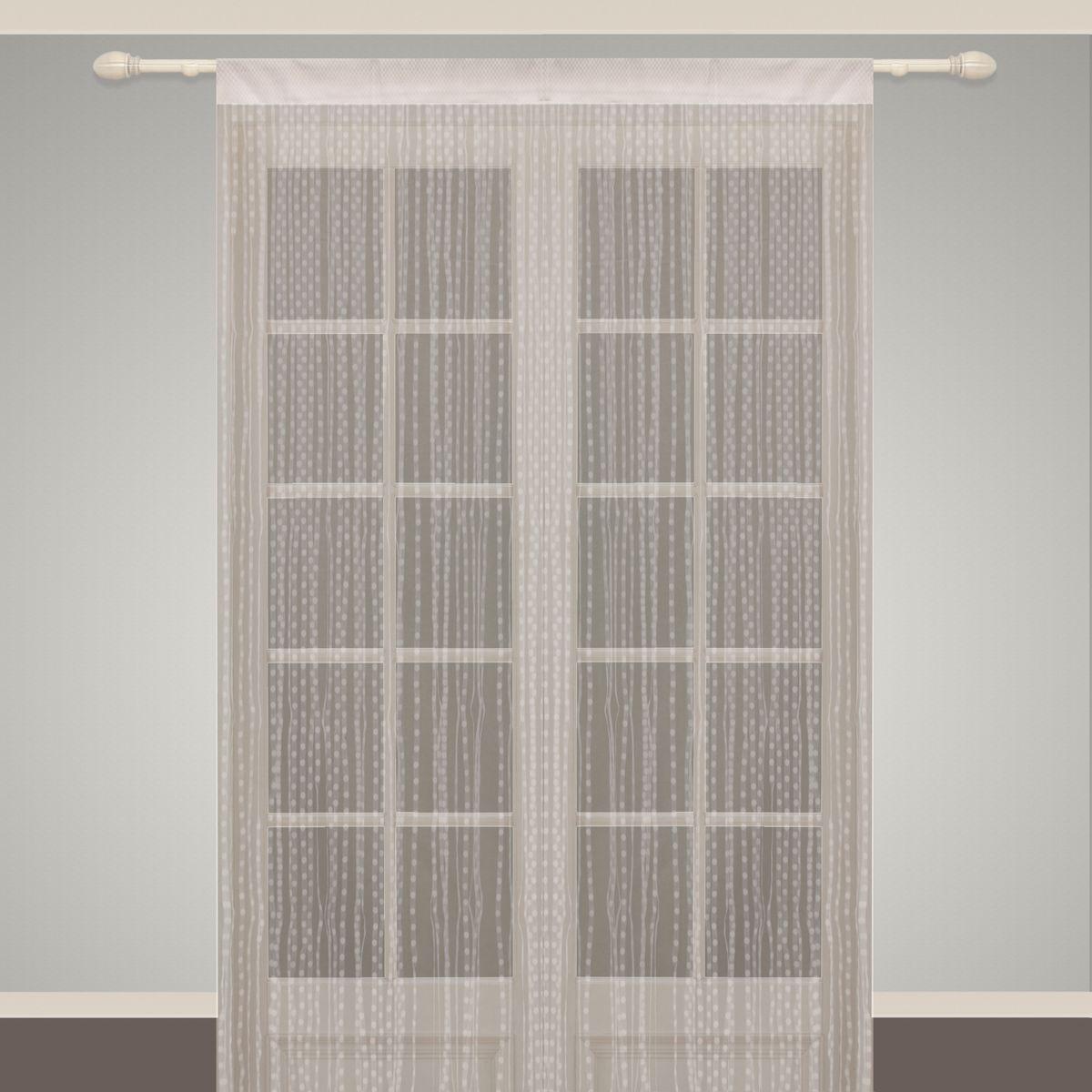 Штора нитяная Sanpa Home Collection, на ленте, цвет: белый, высота 290 смSP 102/BLUEWHITE, , 150*290 смШтора нитяная Sanpa Home Collection, выполненная из текстиля, подходит как для зонирования пространства, так и для декорации окна, как самостоятельное решение или дополнение к шторам. Такая штора великолепно дополнит интерьер вашего дома и станет отличным дизайнерским решением.