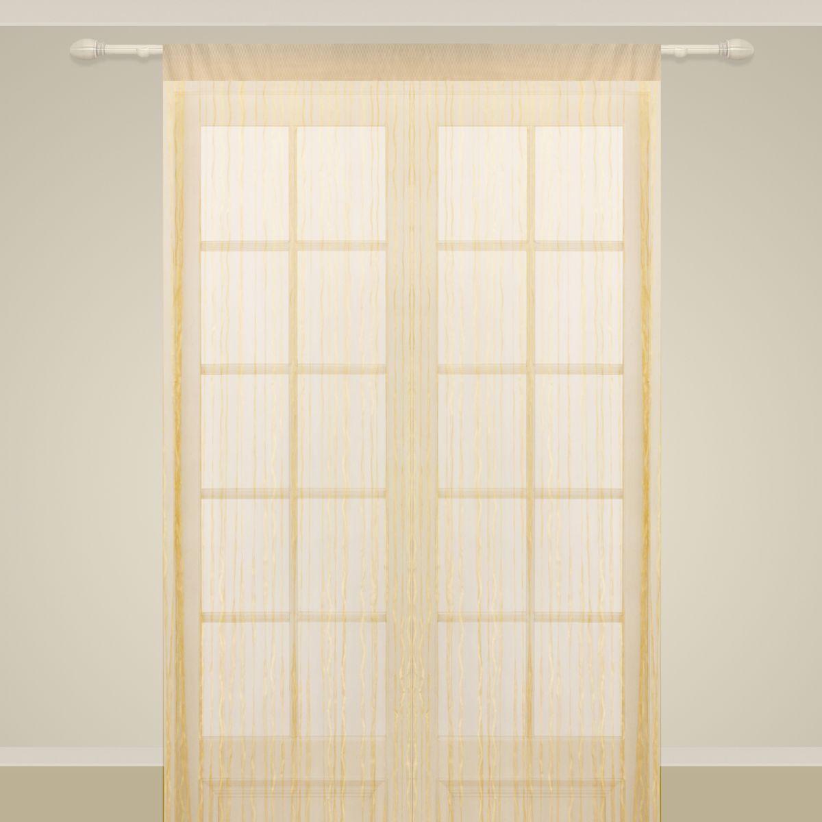 Штора нитяная Sanpa Home Collection, на ленте, цвет: салатовый, высота 290 смBH-UN0502( R)Штора нитяная Sanpa Home Collection, выполненная из текстиля, подходит как для зонирования пространства, так и для декорации окна, как самостоятельное решение или дополнение к шторам. Такая штора великолепно дополнит интерьер вашего дома и станет отличным дизайнерским решением.