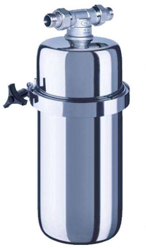 Корпус водоочистителя Аквафор ВИКИНГ миди68/5/3Фильтр для воды Аквафор Викинг Миди корпусВы можете адаптировать фильтр для очистки холодной, горячей или питьевой водыАквафор Викинг Миди - это универсальный корпус предфильтра среднего размера. Корпус изготовлен из долговечной нержавеющей стали, не подвержен коррозии и деформации. Выдерживает пиковые и постоянные высокие давления в водопроводе. Конструктивные особенности крепления Американка делают максимально простыми его установку и замену картриджей даже в труднодоступных местах.С корпусом могут использоваться сменные модули:B515-13 – сменный модуль для холодной водыB515-14 – сменный модуль для горячей водыB150-Миди – cменный модуль для доочистки питьевой воды.