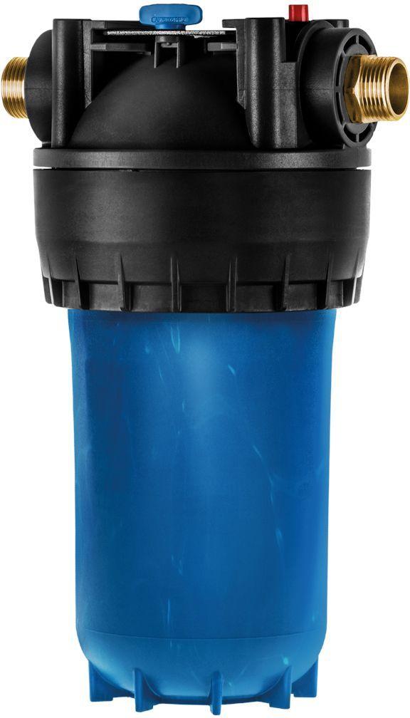 Корпус фильтра Аквафор Гросс Миди 10 ВВ, для холодной воды28042Корпус фильтра Аквафор Гросс Миди 10 ВВ, предназначен для холодной воды. Он эффективно удаляет песок, ржавчину, взвесь и другие примеси. Корпус Аквафор Гросс Миди 10 ВВ,облегчает работу фильтра питьевой воды, защищает бытовую технику от поломок, делает прием ванны или душа более приятным. Корпус Аквафор Гросс Миди 10 ВВ, выполненный из стеклопластика, выдерживает высокое давление. Изделие оснащено удобным поворачивающимся кронштейном. Замену фильтрующего модуля сильно упрощает быстроразъемное крепление. С корпусом Аквафор Гросс Миди 10 ВВ, могут использоваться сменные модули: - ЭФГ 112/250 10 мкм - сменный модуль для базовой очистки холодной воды; - B510-12 - сменный модуль для глубокой очистки холодной воды.