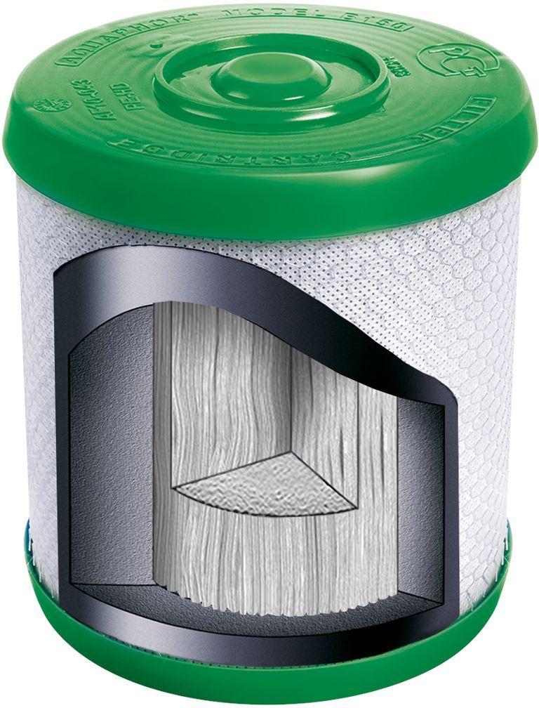 Модуль сменный Аквафор В 150 ЭКО, для Фаворит ЭКО68/5/3Сменный модуль с градиентной пористостью, изготовленный по технологии CarbFiberBlock, обеспечивает безупречную очистку воды от растворимых примесей. Благодаря использованию хелатного ионообменного волокнистого сорбента Aqualen™ он эффективно удаляет катионы тяжелых металлов даже из воды с повышенной жесткостью.Японская микрофильтрационная мембрана, установленная на финишной стадии очистки, имеет поры размером 0,1 микрона. Это в 1000 раз меньше толщины человеческого волоса! Такая мембрана задерживает коллоидные частицы и обеспечивает 100% защиту от бактерий*.Подходит для водоочистителя Фаворит и водоочистителя Фаворит Эко.