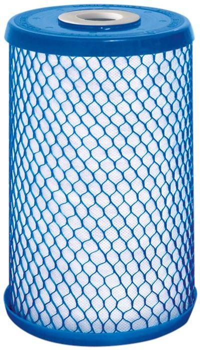 Модуль сменный Аквафор В 510-12, для ВВ 10BL505Сменный фильтрующий модуль Аквафор В 510-12предназначен для предварительной очистки водопроводной воды. Модуль устанавливается в 10 дюймовые стандартные корпуса и может использоваться в системах водоснабжения квартир, коттеджей, кафе, ресторанов, детских садов и других муниципальных объектов.Модуль изготовлен по технологии карбонблок с волокном. Содержит в оптимальном сочетании уникальные волокнистые сорбционные материалы и мелкодисперсный активированный уголь.Благодаря этому модуль обеспечивает эффективную очистку воды от ржавчины (коллоидного железа), песка и других нерастворимых примесей, а также от активного хлора, растворенного железа и органических веществ. Содержит серебро в активной ионной форме.Ресурс модуля: 30 000 л.Производительность: 10 л/мин.