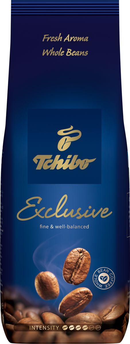 Tchibo Exclusive кофе в зернах, 250 г0120710С кофе в зернах вы можете радовать себя и своих близких по-настоящему насыщенным ароматом бодрящего кофе каждый день. Его яркий вкус подарит вам особенные моменты отдыха и комфорта в домашней обстановке. Вот уже более 60-лет компания Чибо хранит семейные традиции создания кофе.