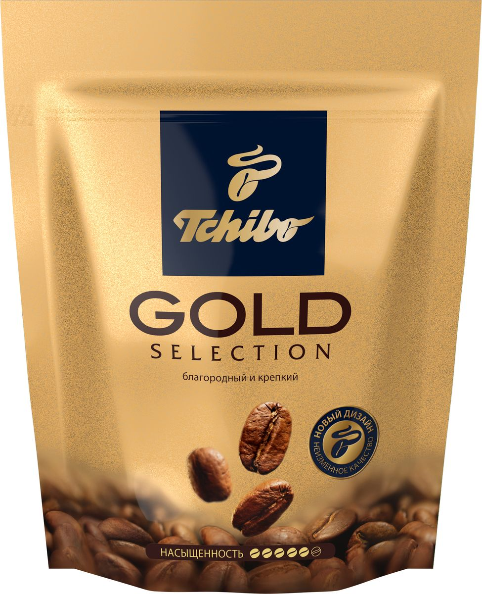 Tchibo Gold Selection кофе растворимый, 40 г лопатка tchibo