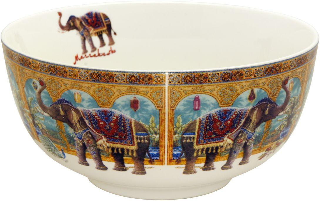 Набор салатников GiftnHome Marrakesh, диаметр 14 см, 4 шт54 009312Салатник из костяного фарфора, набор упакован в картонную коробку
