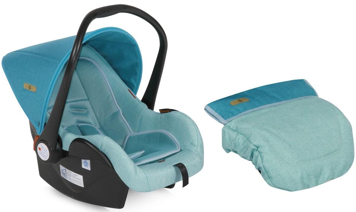 Lorelli Автокресло-переноска Lifesaver цвет светло-бирюзовый от 0 до 13 кг -  Автокресла