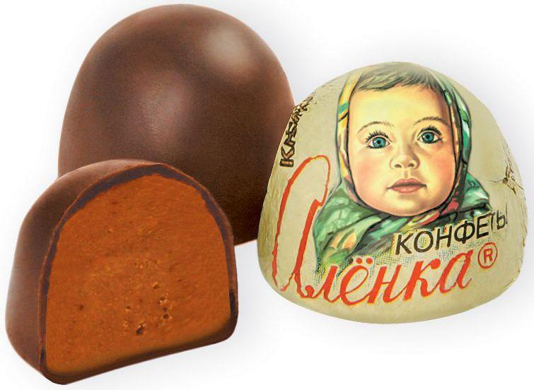 Красный Октябрь Аленка конфеты со вкусом крем брюле купол, 250 гКО08238Знаменитые московские конфеты напоминают вкус детства!
