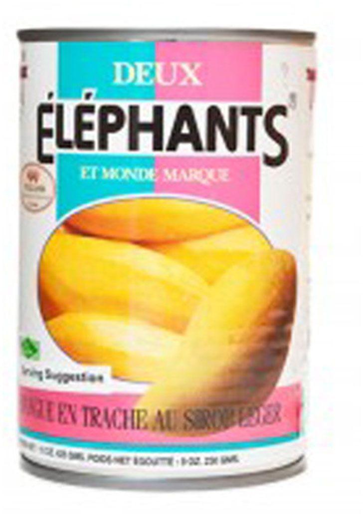 Twin Elephants Манго в сиропе, 565 г
