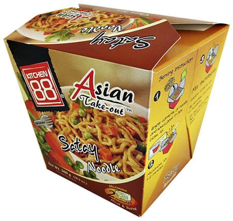 Kitchen88 Тайская лапша в ореховом соусе, 300 г