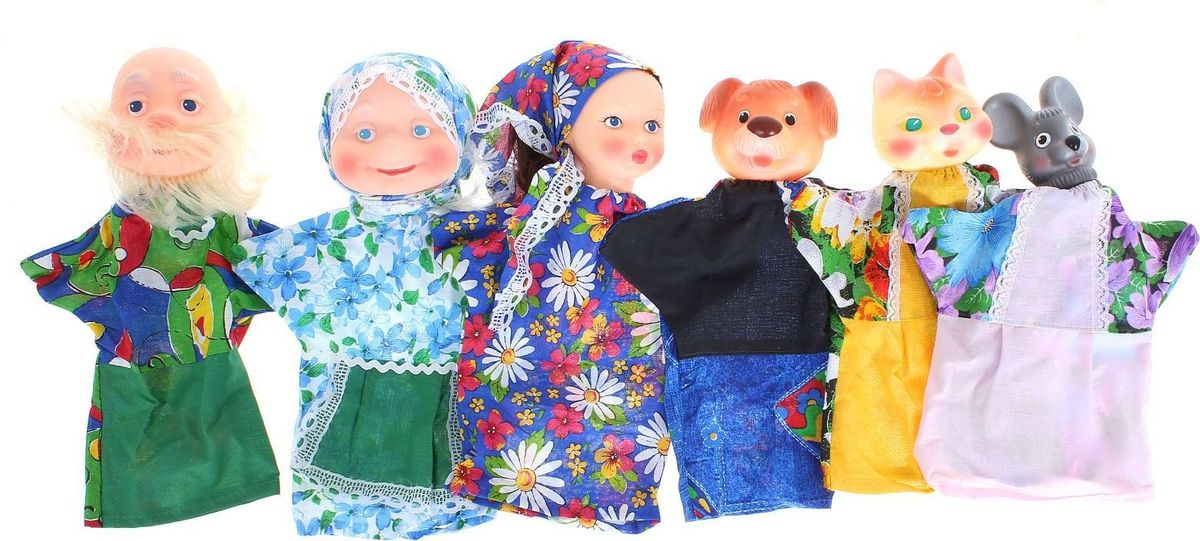 Sima-land Кукольный театр Репка vladi toys магнитный кукольный театр репка