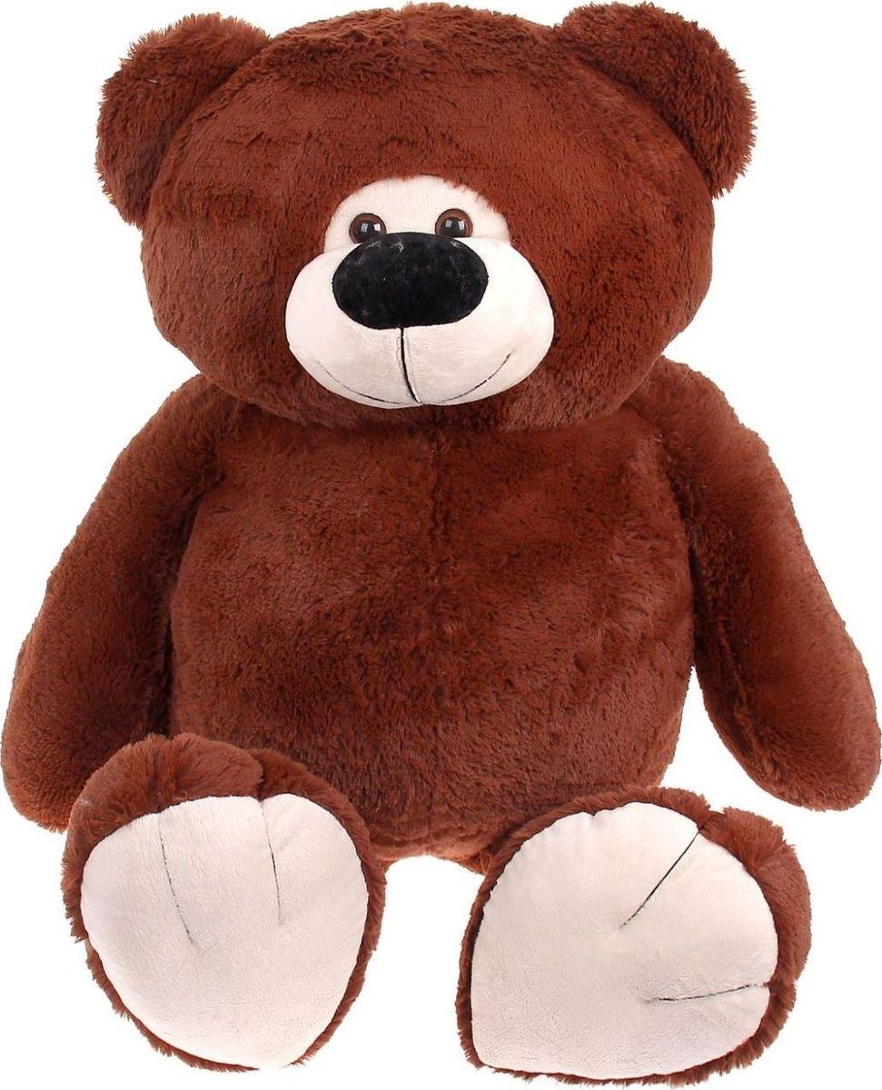 Sima-land Мягкая игрушка Мишка Веня цвет коричневый 75 см