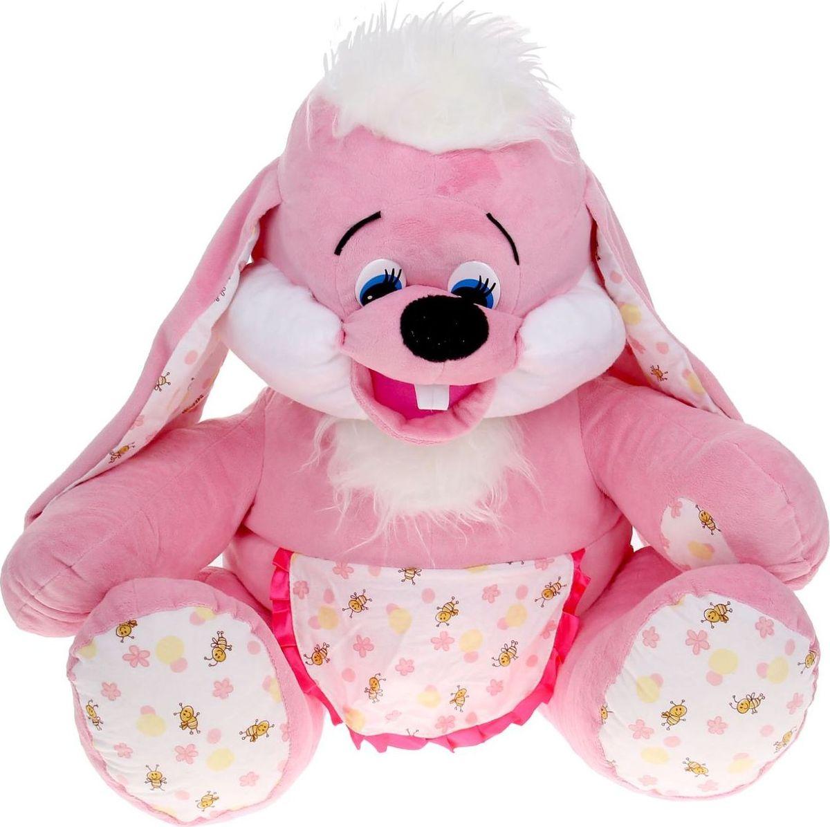 Флиппер Тойз Мягкая игрушка Зайка-Хозяйка 65 см игрушка флиппер мишка в футболке brown фл602