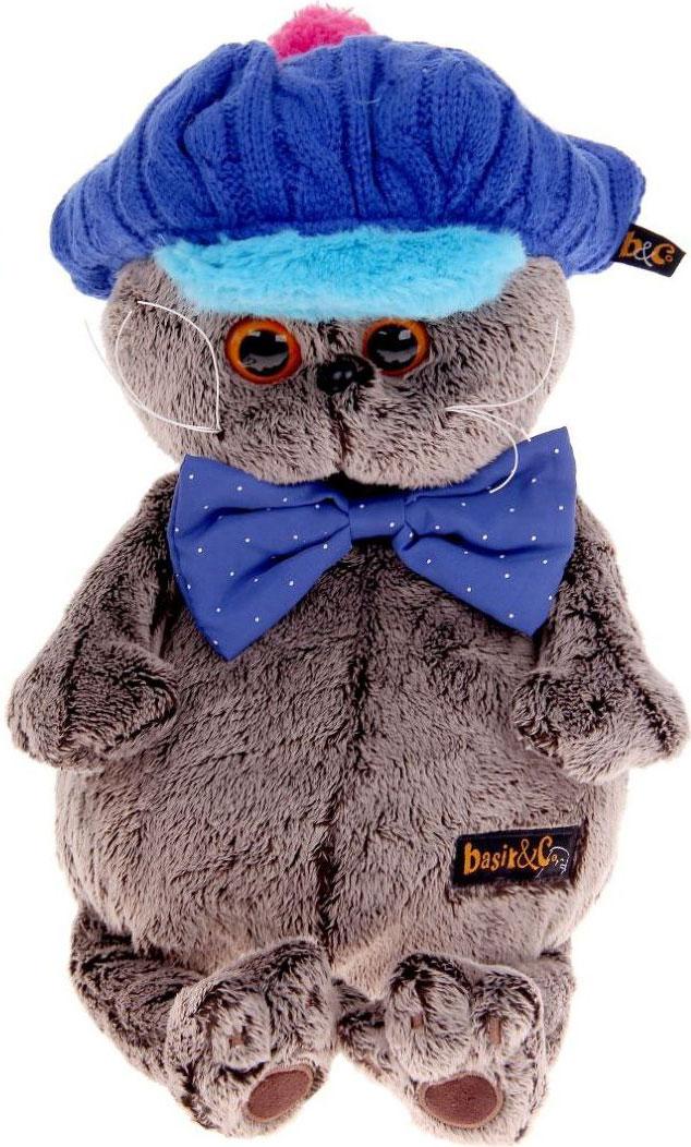 Басик и Ко Мягкая игрушка Басик в кепке 30 см пальто басик