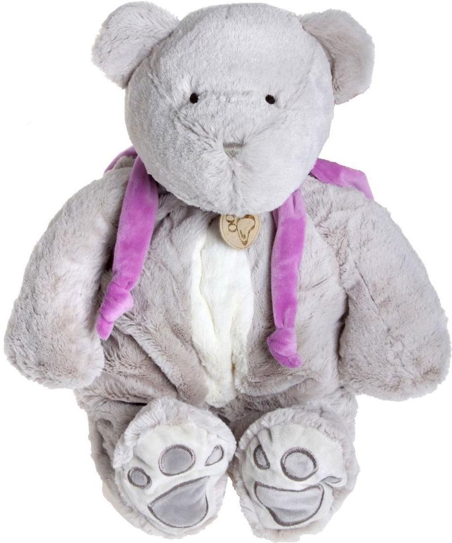 Sima-land Мягкая игрушка Медведь цвет серый 30 см  sima land мягкая игрушка пингвинчик 30 см