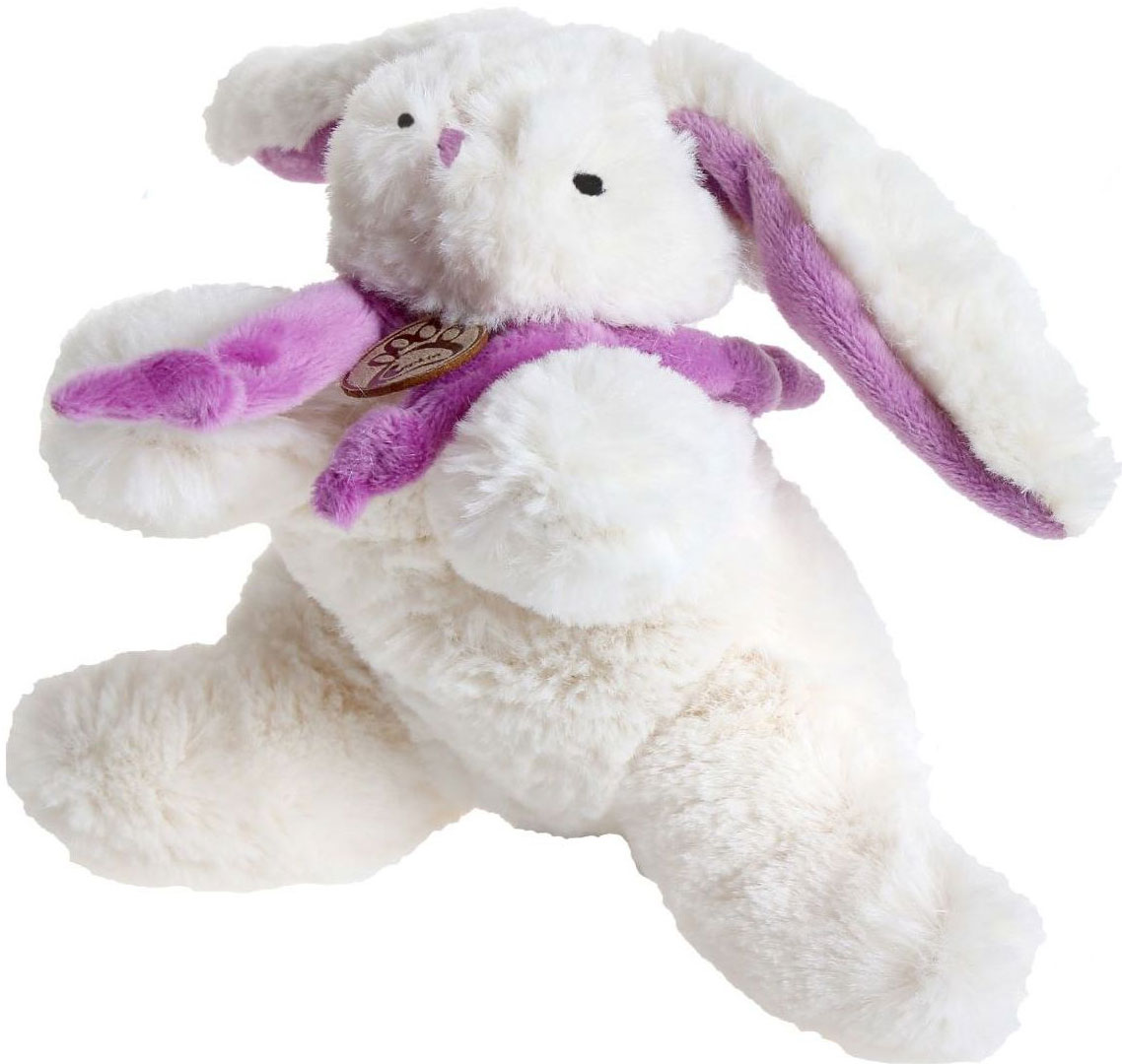 Sima-land Мягкая игрушка Кролик с фиолетовым шарфиком цвет белый 15 см sima land мягкая игрушка сердце 309576