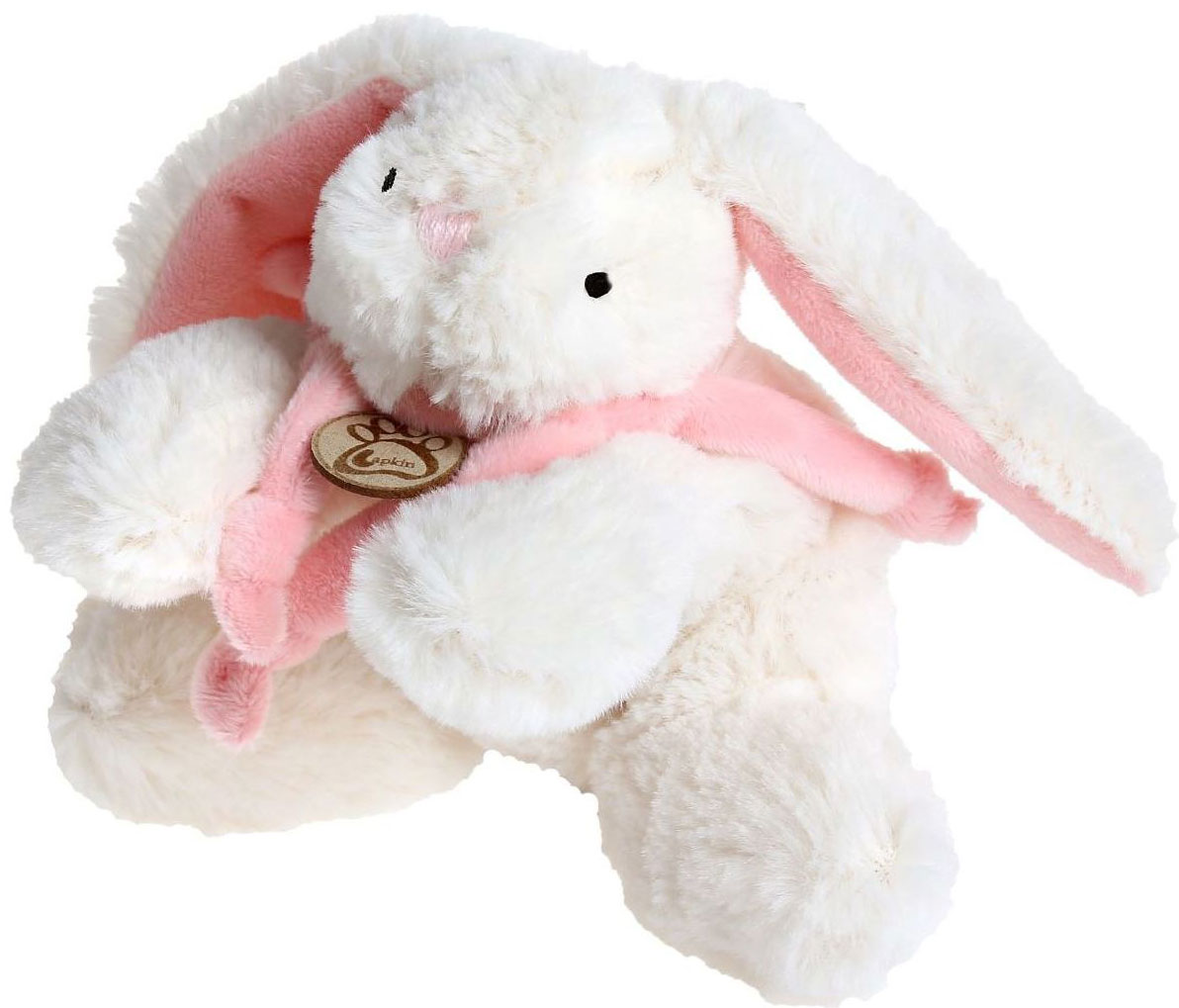Sima-land Мягкая игрушка Кролик с розовым шарфиком цвет белый 15 см sima land мягкая игрушка сердце 309576